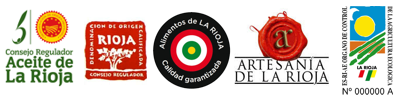 logos calidad productos de la rioja